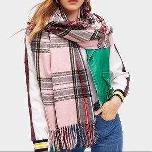 Just in for fall - blanket scarf acrylic plaid